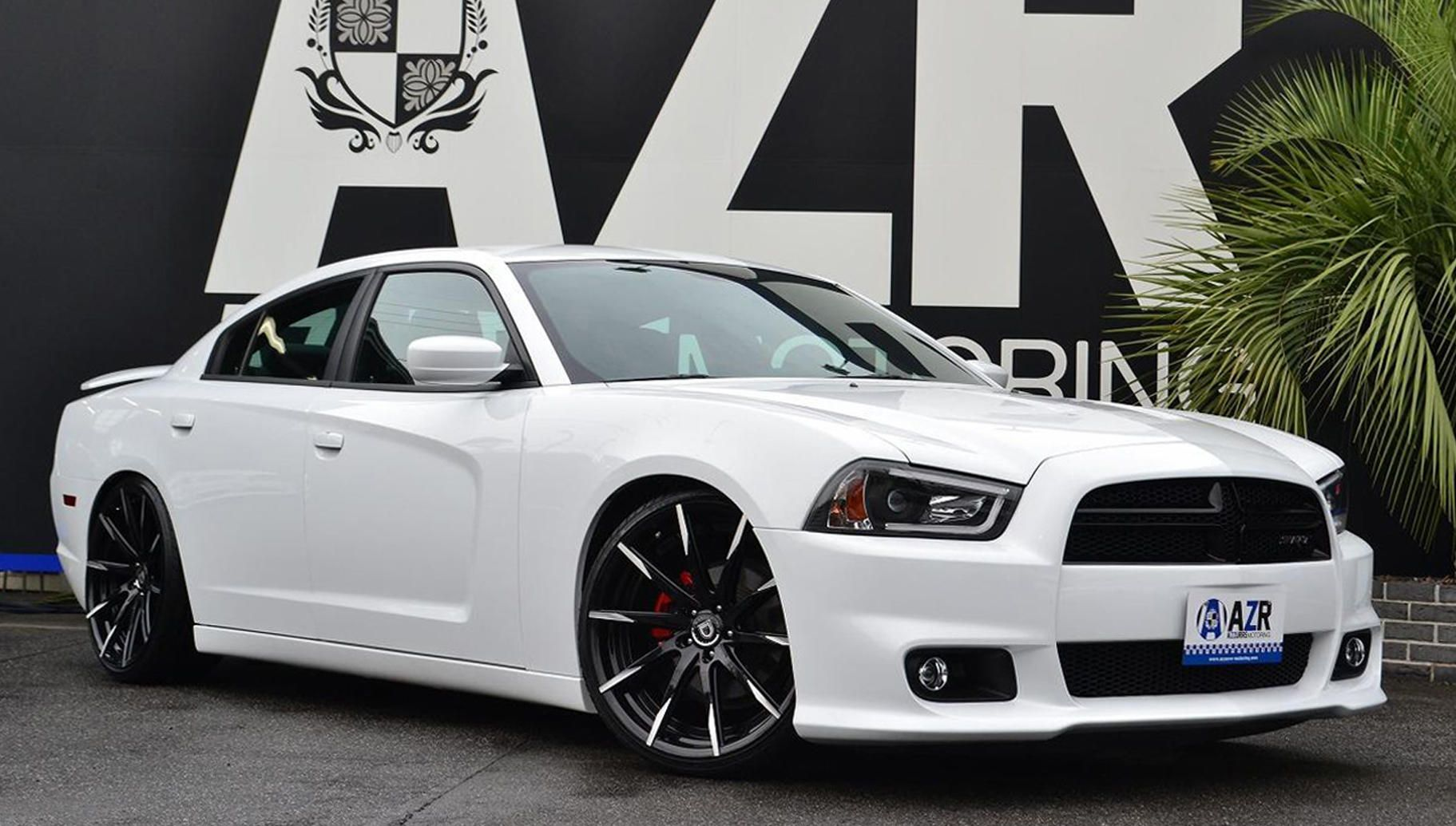 dodge charger 2012 white with black rims - Dodge Charger 2013 White Black Rims