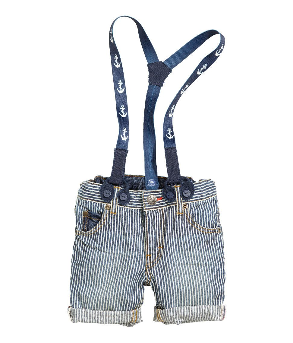 5317584df h m baby suspenders and shorts