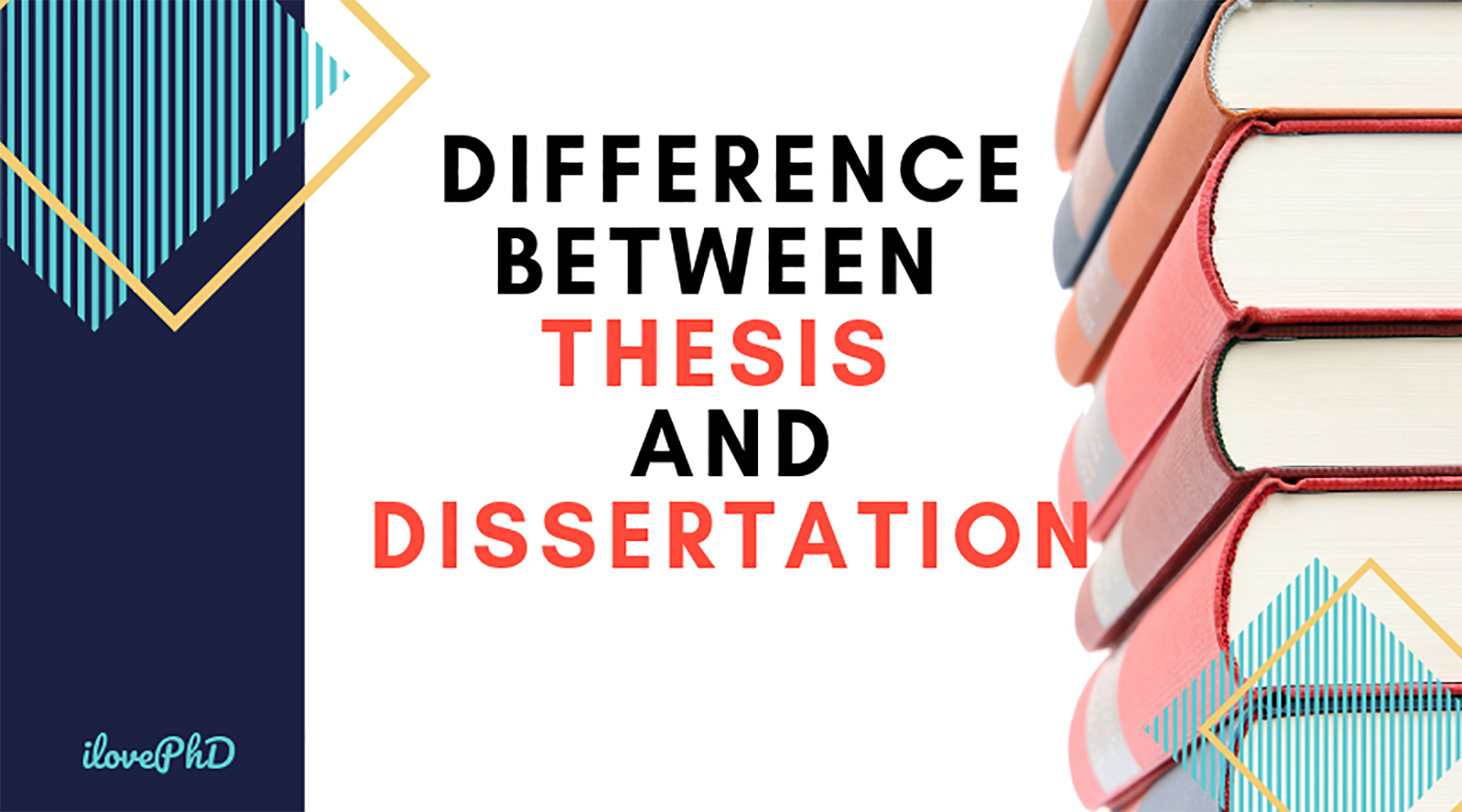 Thesi And Dissertation Are The Word Often Used In Academia Which Also Lead To Some Confusion That What Exactly Each Statement Thesis Zoology Ideas