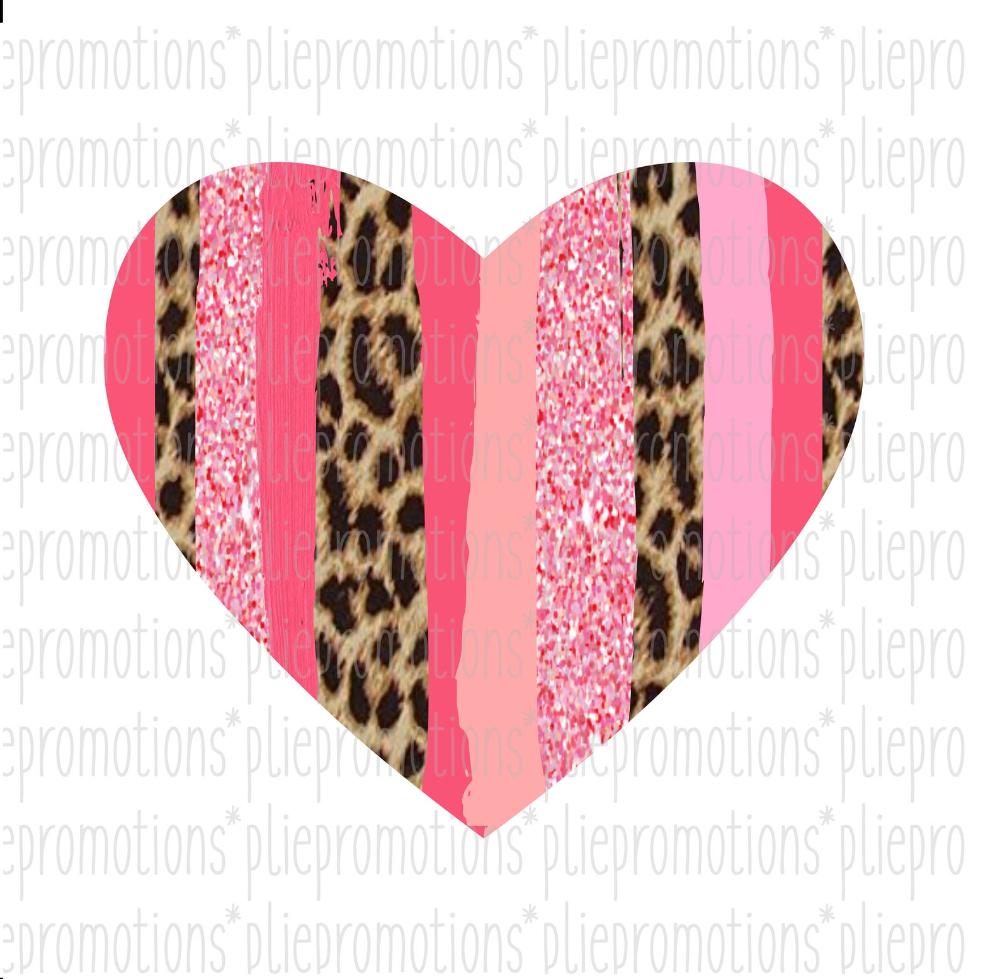 Cheetah Print Heart Leopard Heart Png Pink Heart Clip Art Etsy Heart Clip Art Clip Art Valentines Clip