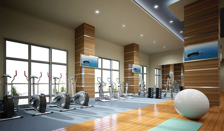 Residential Gym And Fitness Gym Room Gym Design Yoga Space