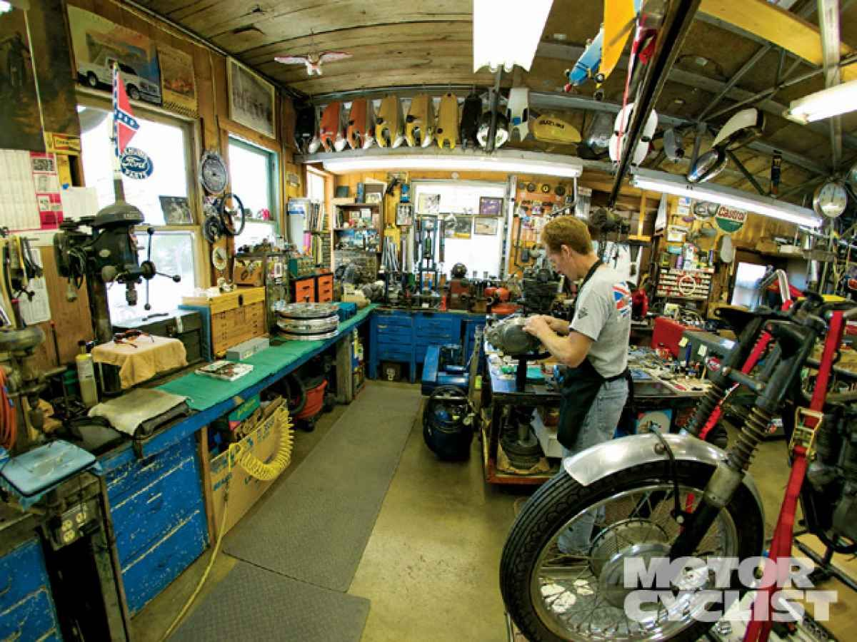 Impressive Motorcycle Garages 7 Garage Motorcycle Shop
