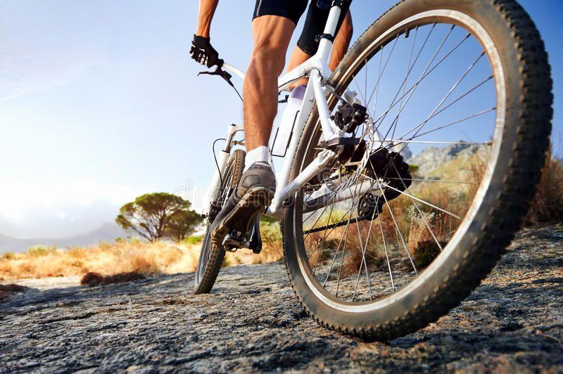 Adventure Sport Extreme Mountain Bike Sport Athlete Man Riding
