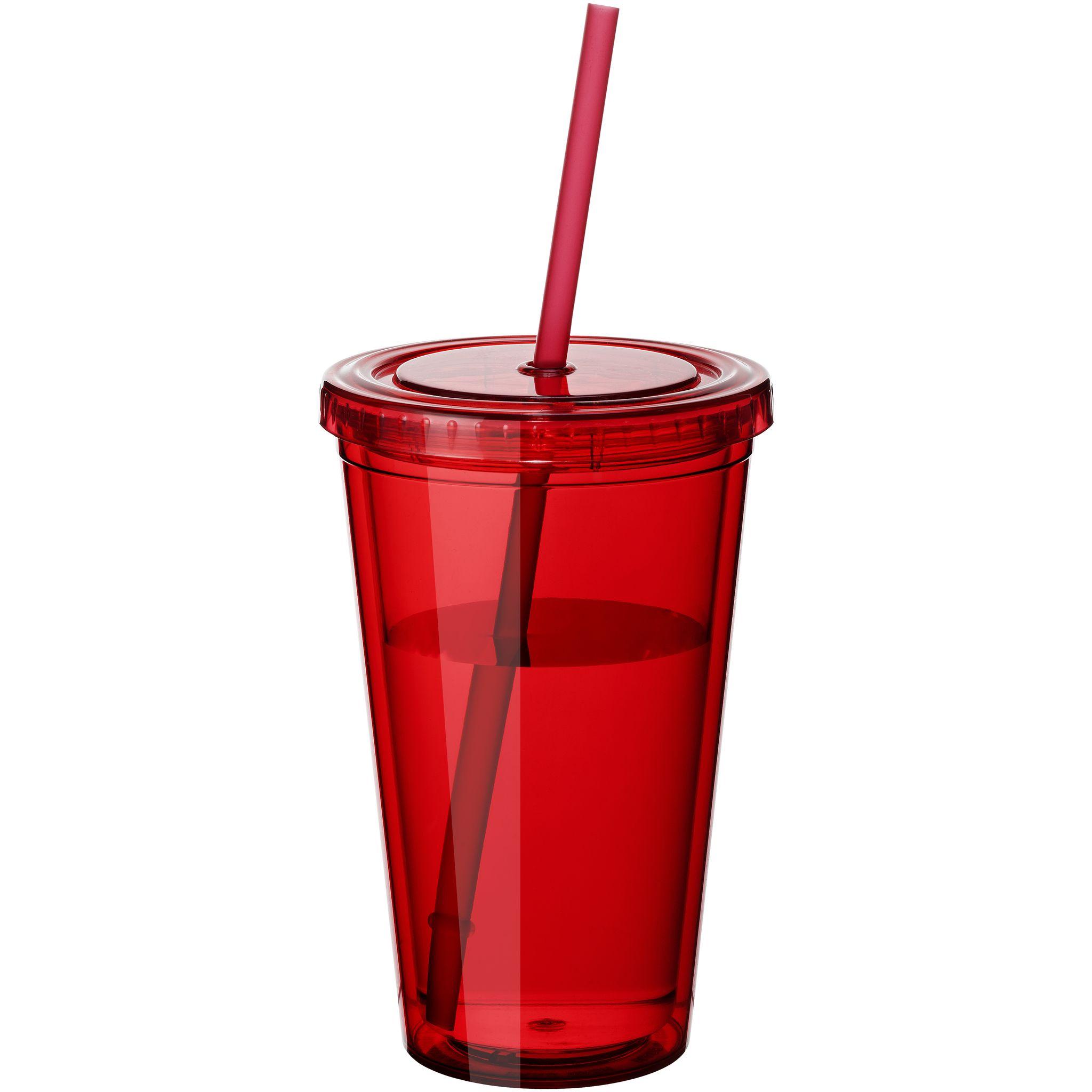 Cyclone Korrega Joogitops Punane Insulated Tumblers Glassware Plastic Cup