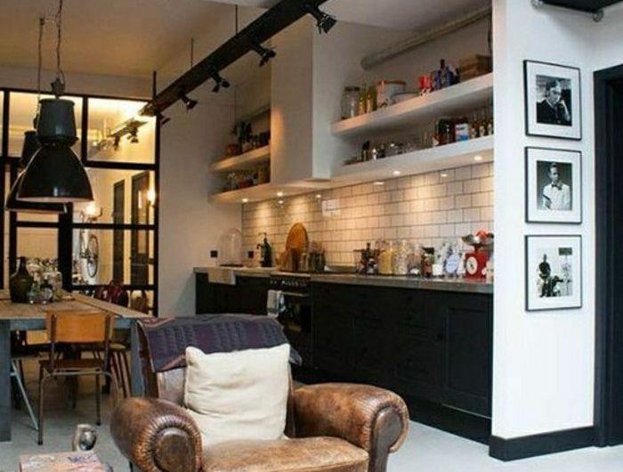 Mille et une idées pour le salon style industriel en 44 ...