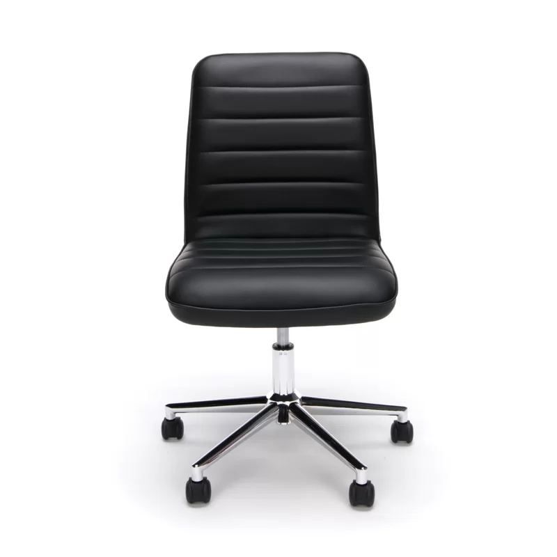 Johnelle Task Chair in 2020 Office chair, Leather office