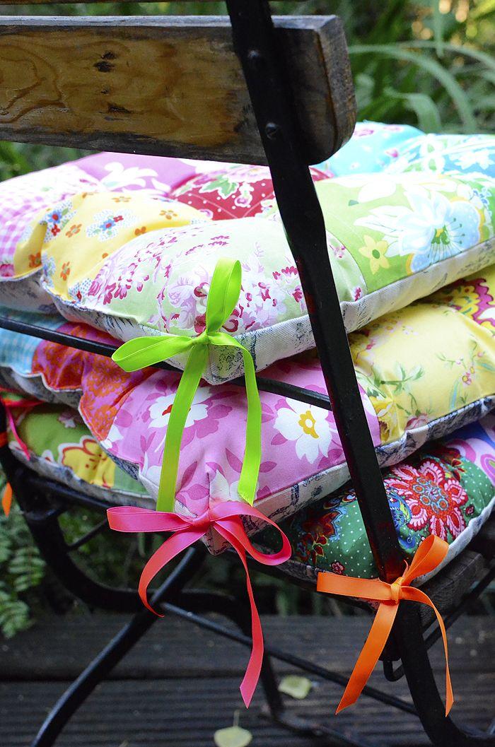 Garden Chair Cushion Tutorial   ellis & higgs - Quilt and Sewing ...