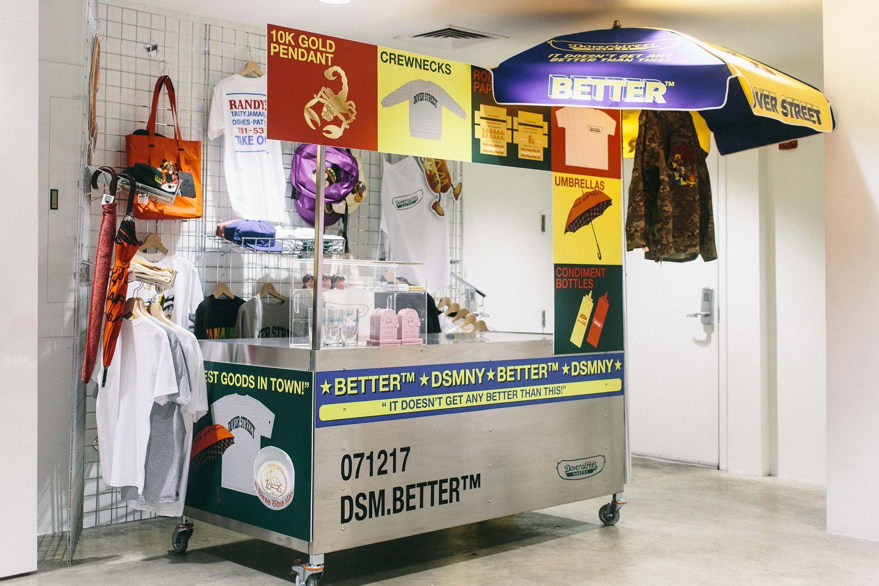 f82ede3ef Avi Gold s Better™ Hosts Pop-Up Hot Dog Stand at Dover Street Market ...