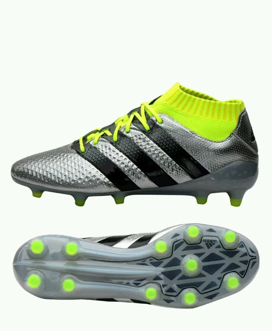 online retailer cf55f 73b88 New Sz 7.5 Men s Adidas ACE 16.1 Primeknit FG AG S76469 Soccer Football  Cleats