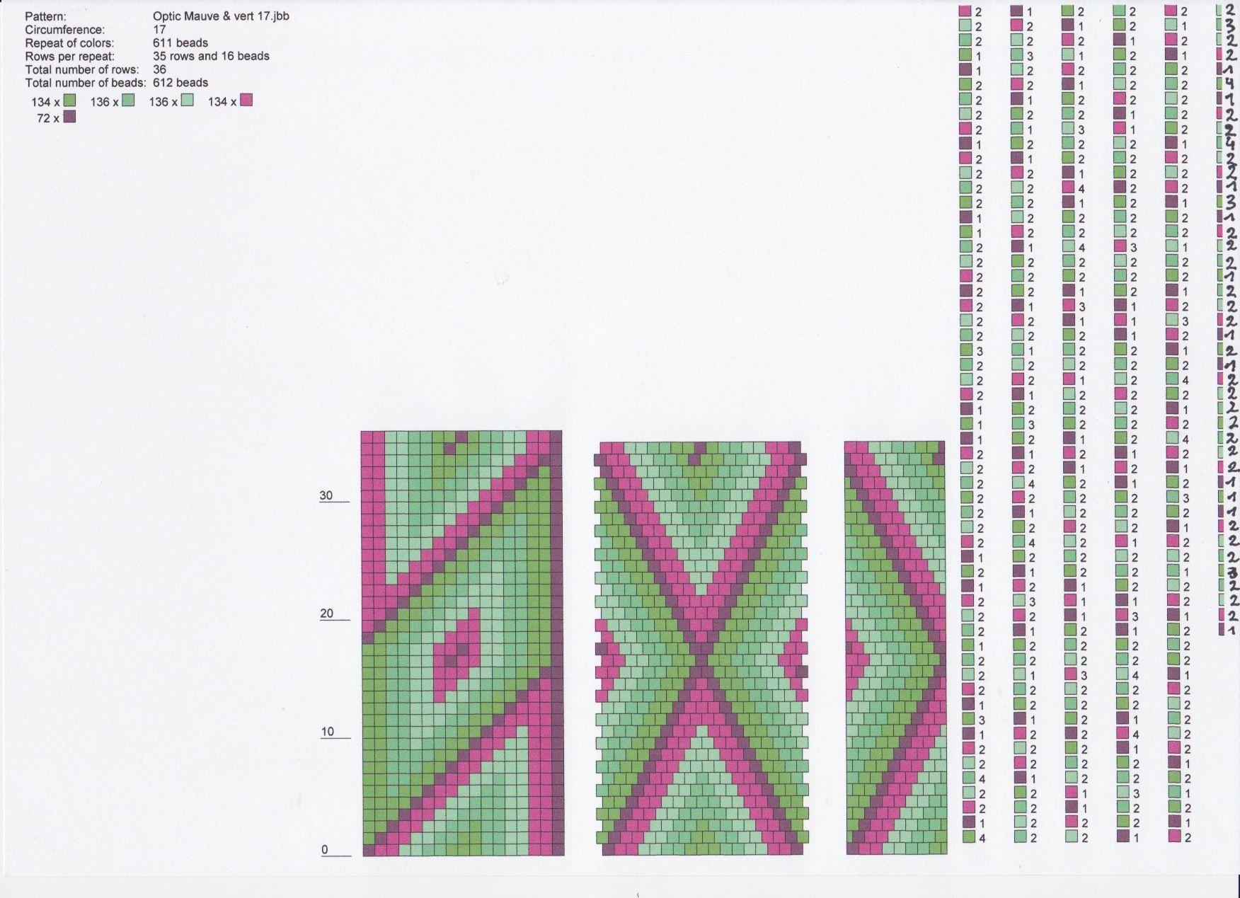 Colliers MS \'Optic\' - Le Blog d\'Isa | Handmade | Pinterest | Crochet ...