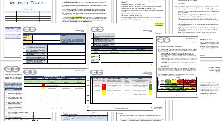 Privacy Impact Assessment Templates Privacy Impact Assessment - impact assessment template