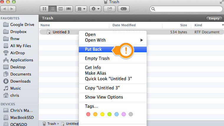 How To Retrieve Deleted Files From The Trash In Macbook Robertmartin011 S Blog