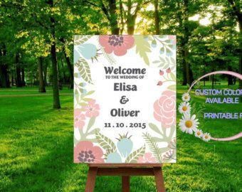 welcome wedding sign – Etsy JA