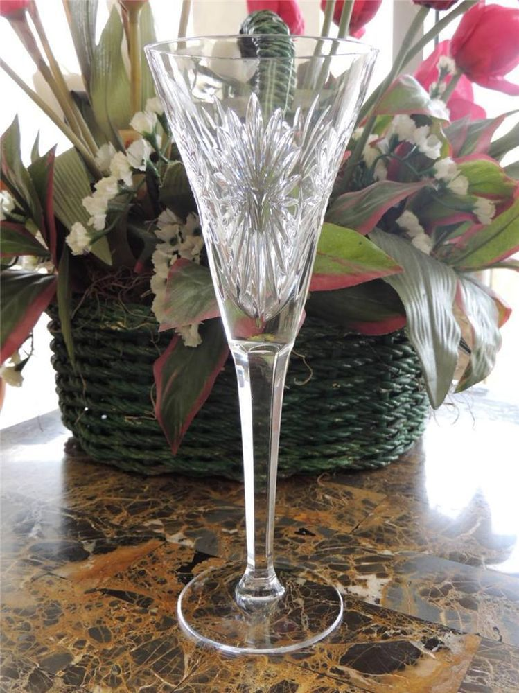 Waterford Crystal Millennium Collection Toasting Flute Health