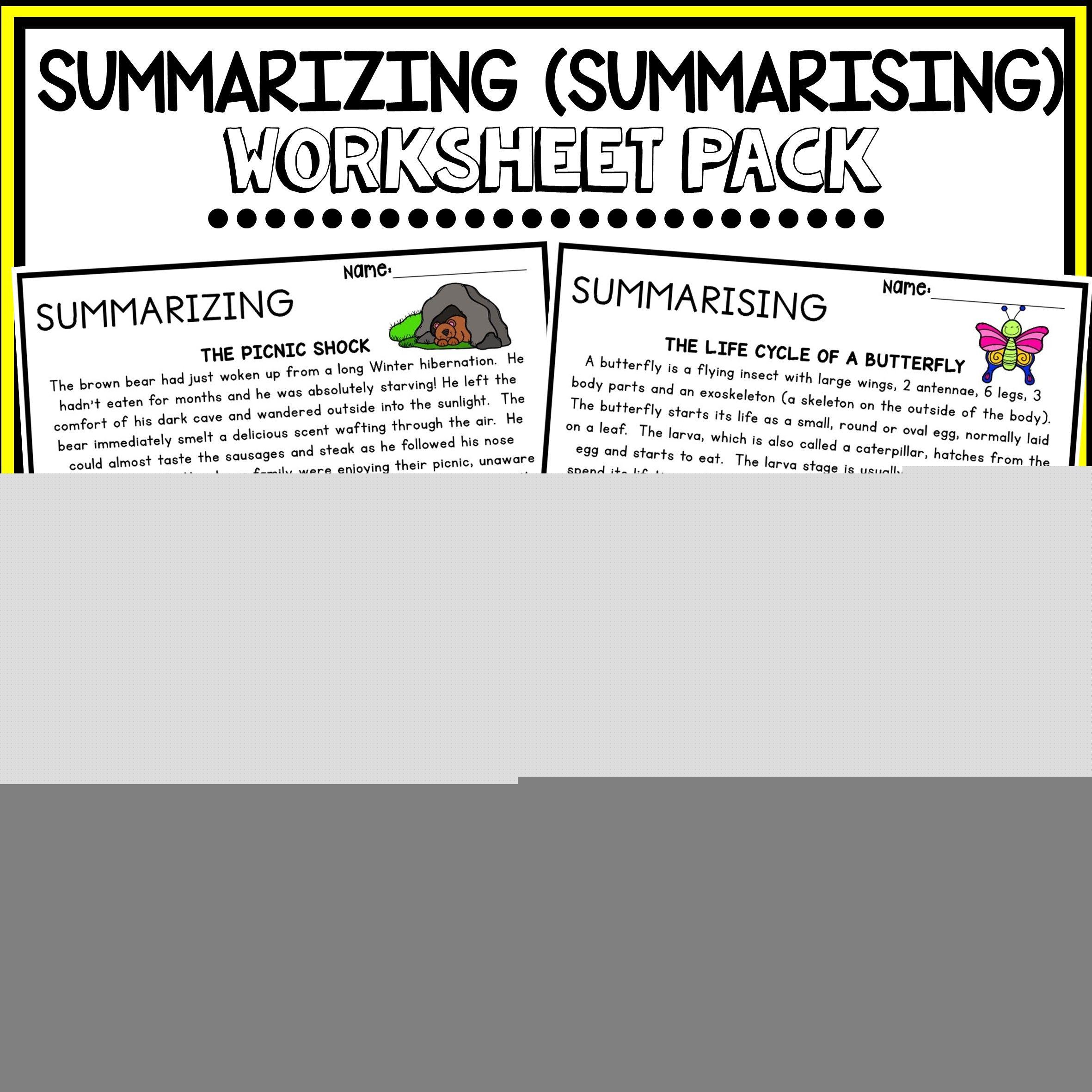 Summarizing Summarising