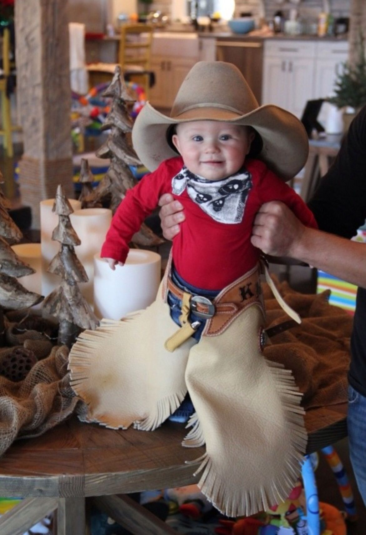 Jewel and Ty Murray's lil guy, Kase. How adorable is he ...