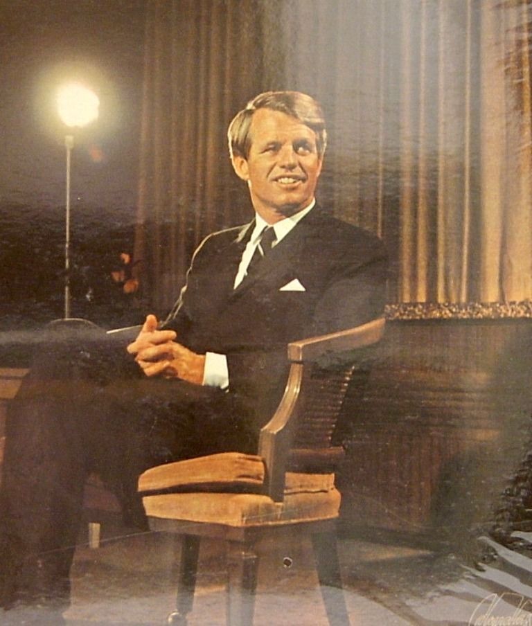"United States Attorney General~~Robert Francis Kennedy (November 20, 1925 – June 6, 1968), commonly known as ""Bobby"" or by his initials RFK, was an American politician, who served as a Senator for New York from 1965 until his assassination in 1968. He was previously the 64th U.S. Attorney General from 1961 to 1964, serving under his older brother, President John F. Kennedy ✩✽❀✿❃✽✩ http://en.wikipedia.org/wiki/Robert_F._Kennedy"