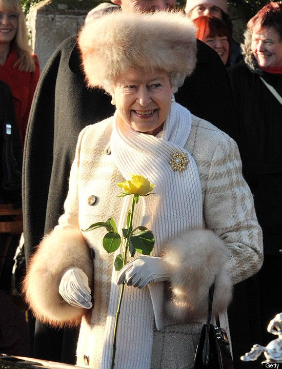 Image result for queen elizabeth with furs