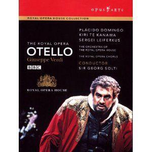 Verdi - Otello [1992] [DVD] [NTSC]: Amazon.co.uk: Placido Domingo, Kiri Te Kanawa, Sergei Leiferkus, Georg Solti: Film & TV