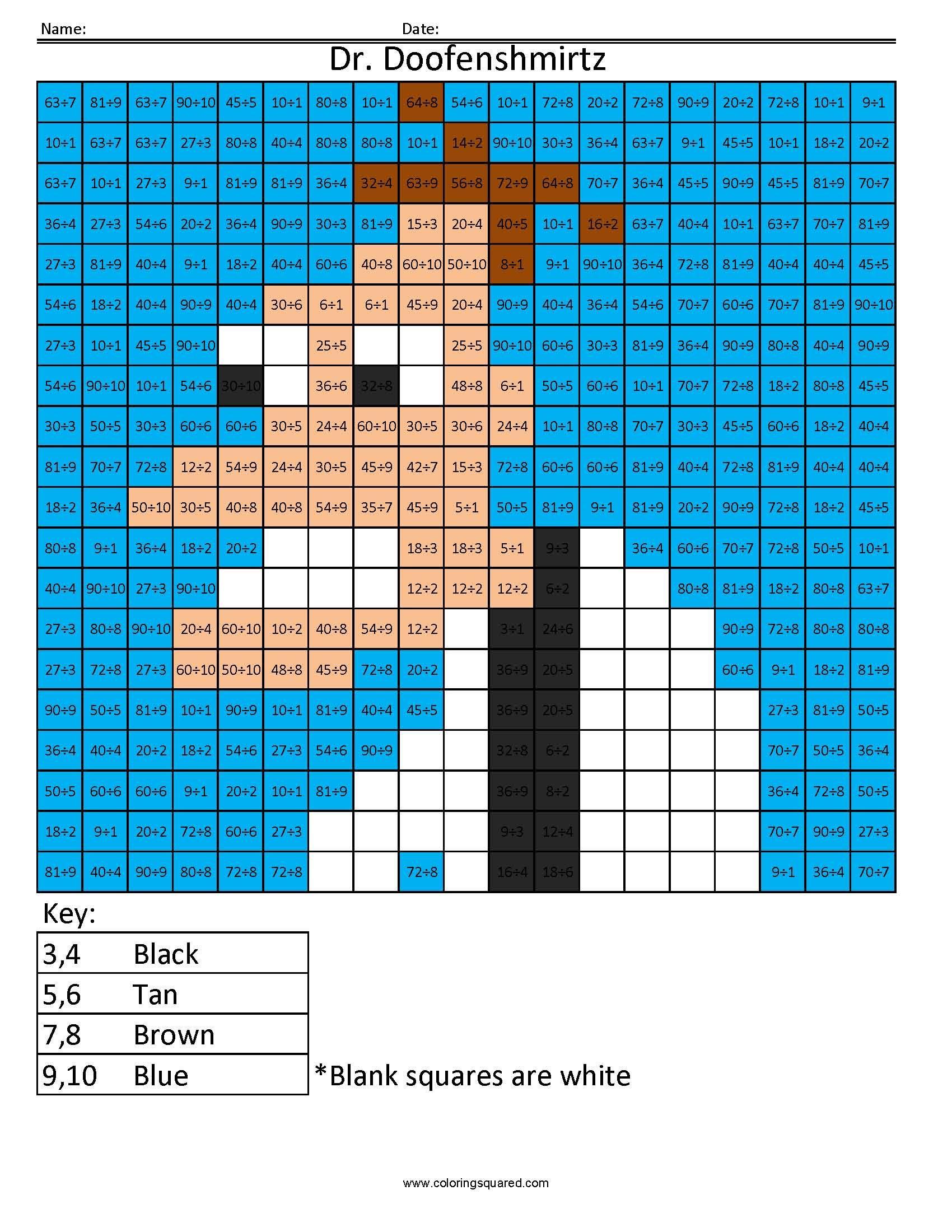 Cartoon- Multiplication and Division | Grade 4 math | Pinterest ...