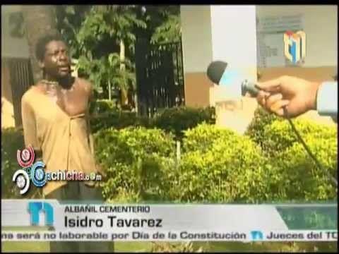 Supuesto profanador de tumbas sorprendido en el acto #Video - Cachicha.com