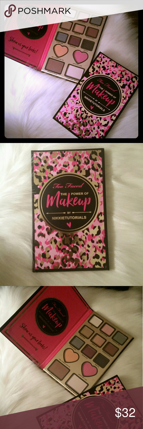 Too Faced The Power of Makeup Palette New Authentic. New