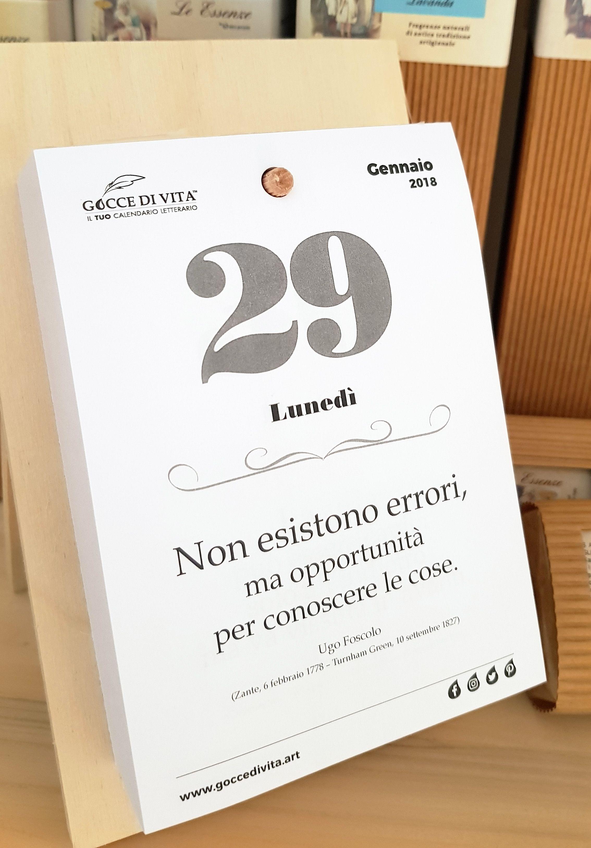 Calendario Frasi Giornaliere.Frasi Aforismi Iltuocalendarioletterario Il Tuo
