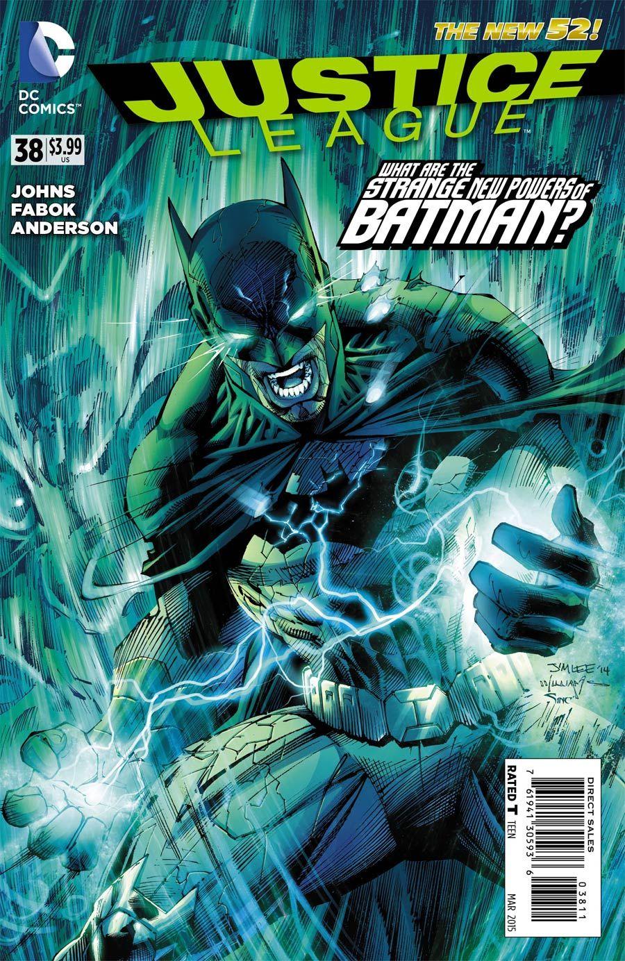 Justice League Vol 2 #38 Cover A Regular Jim Lee Cover
