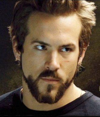 Ryan Reynolds Hannibal King From Blade Trinity He Also Played Deadpool In X Men Wolverine Origins Ryan Reynolds Beard Hollywood