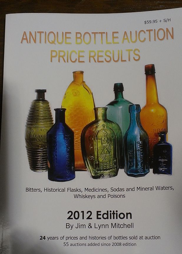 Old Bottle Price Guide | Books for Antique Bottle Collectors ...