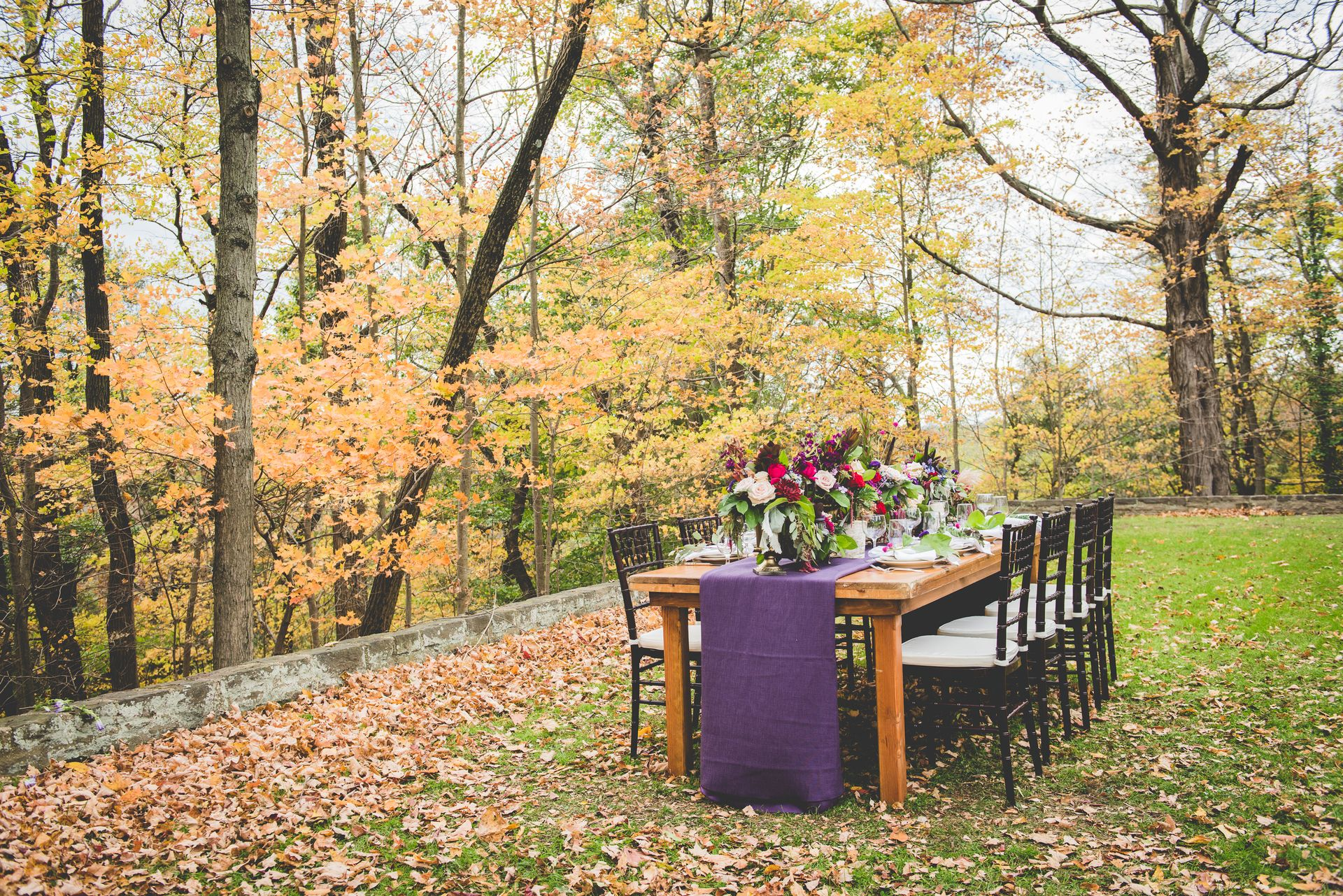 Rich Fall Hues & Romantic Details Styled Shoot | Philadelphia, PA