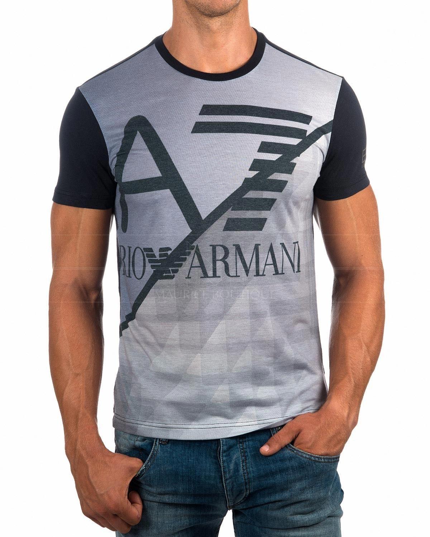 Camisetas EA7 Armani - Gris   Envio Gratis   diseños polos   Pinterest d751895870