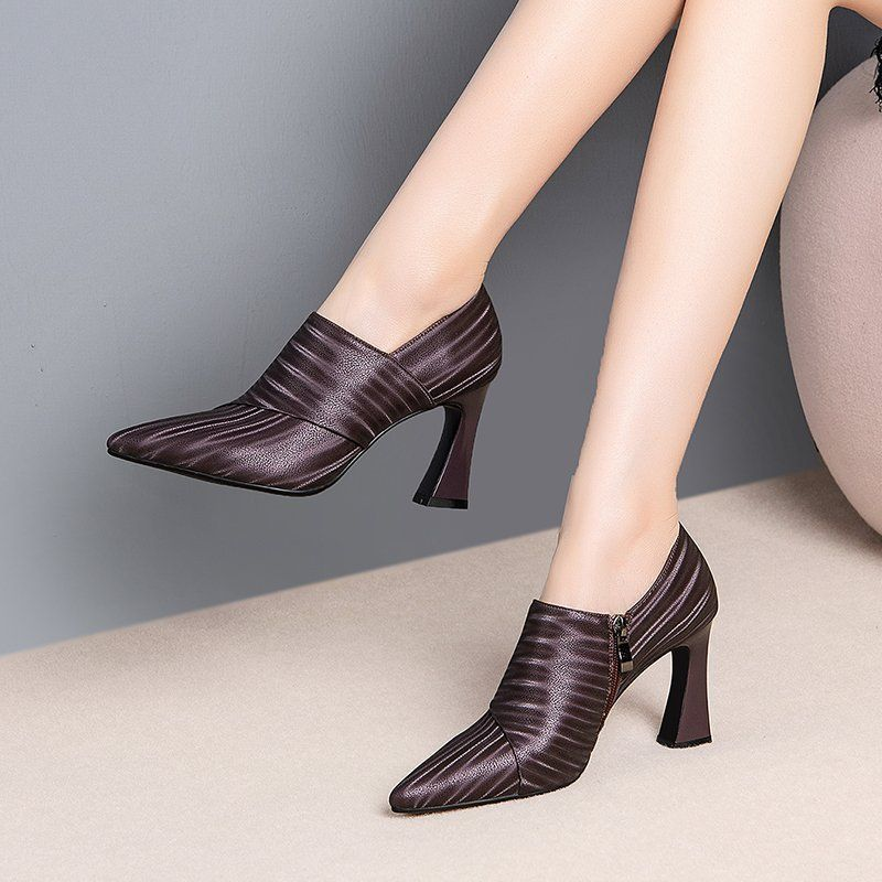 Chiko Whoopi Pointed Toe Curved Heels