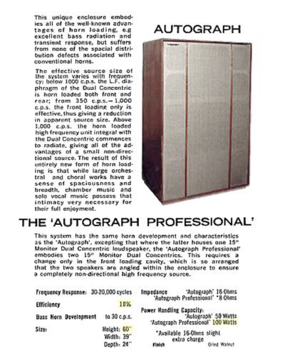 TANNOY-AUTOGRAPH-PROFESSIONAL