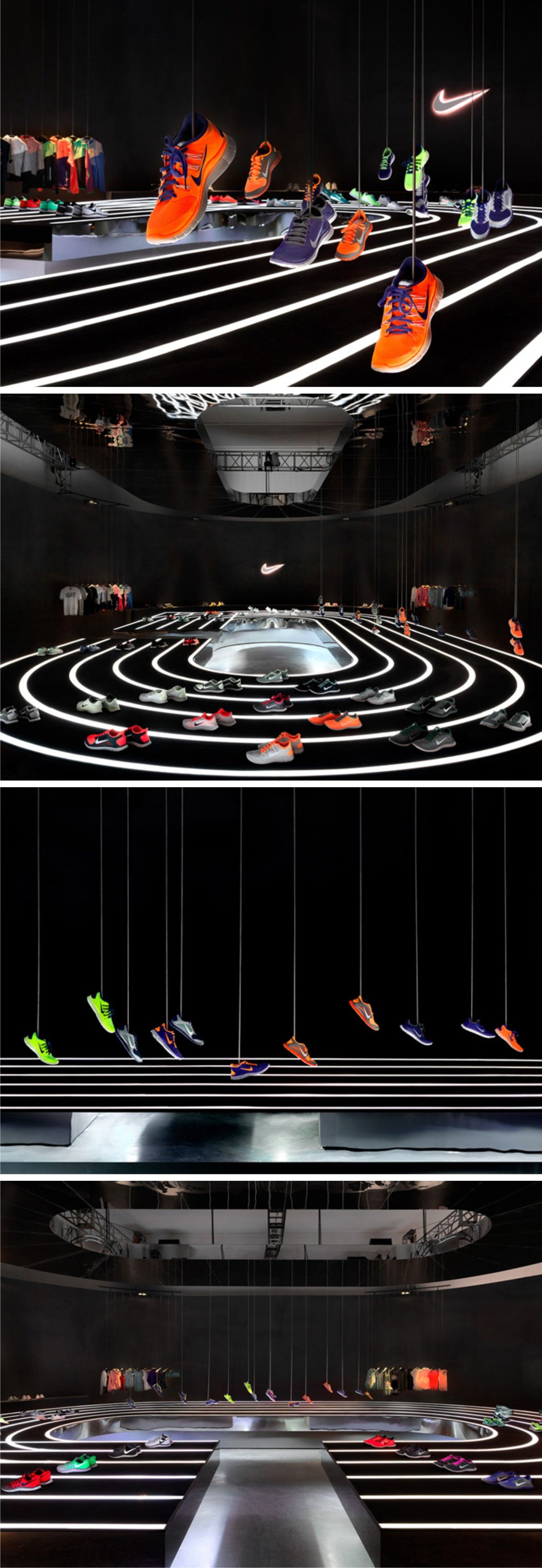 Nike Free 2013 installation by Studio-at-Large, Beijing. retaildesignblog....