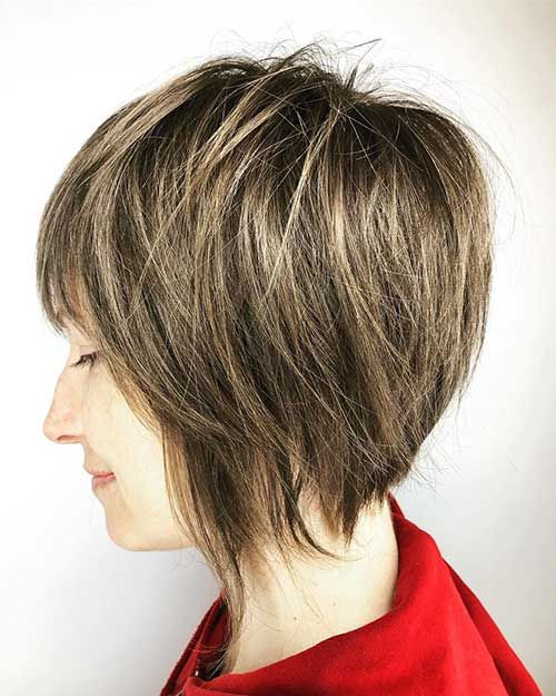 30 Popular Short Layered Hairstyles Ideas