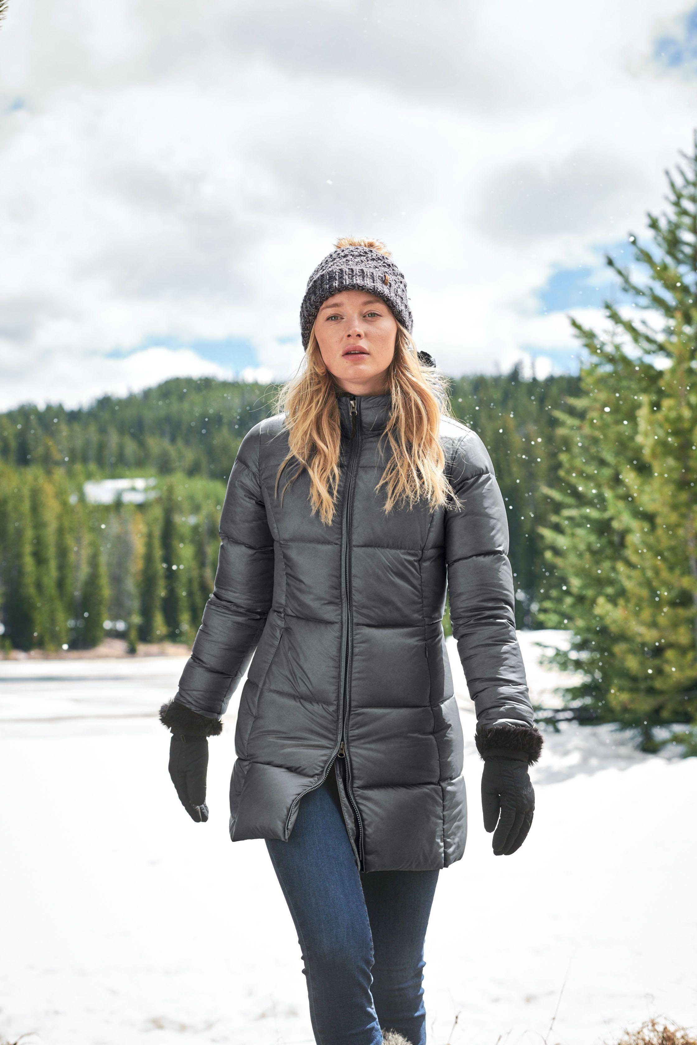 Eddie Bauer Womens Water Repellent Luna Peak Down Parka