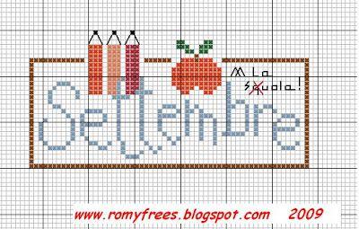 Romy's Cross Stitch Patterns