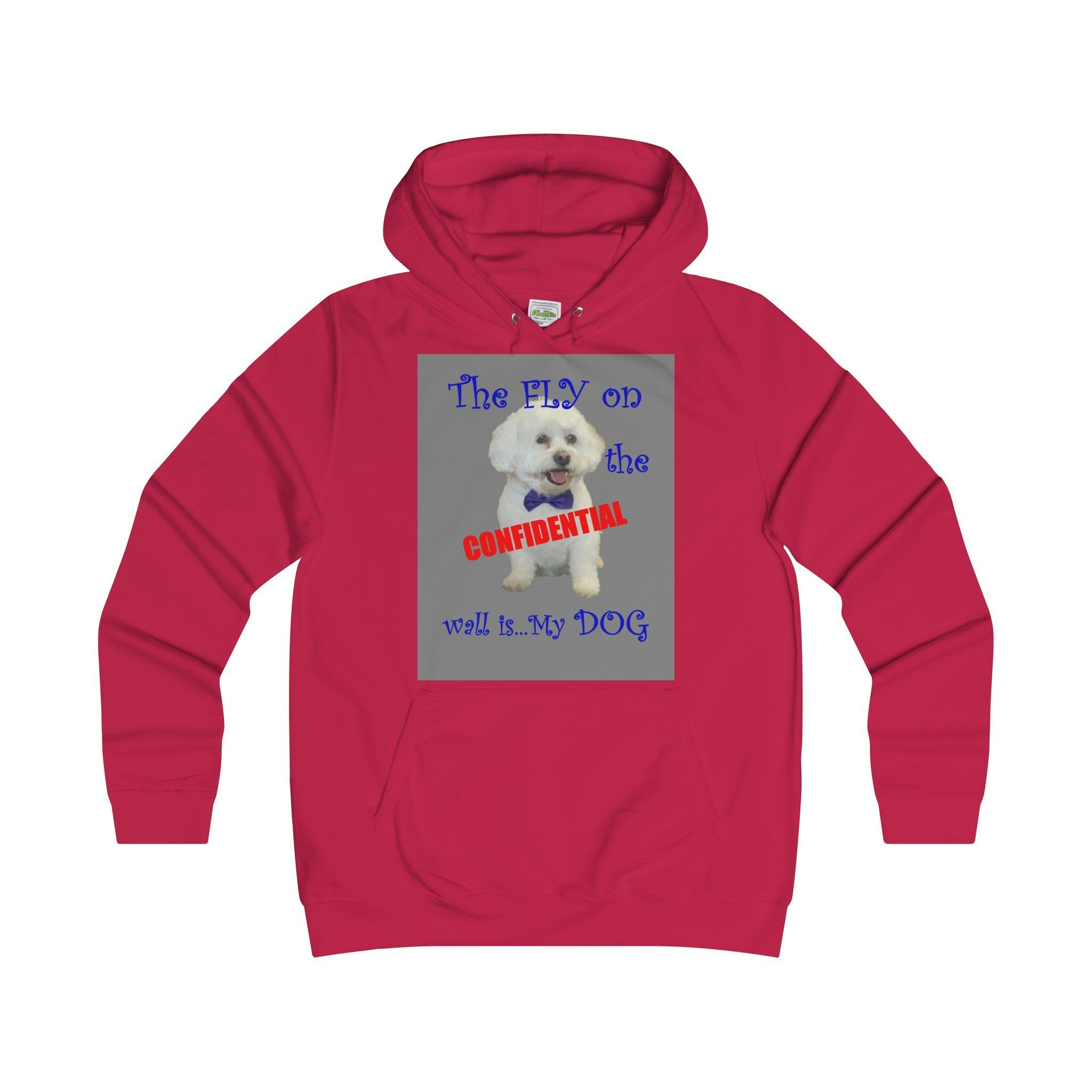 Girlie Fit College Hoodie(multiple colors)