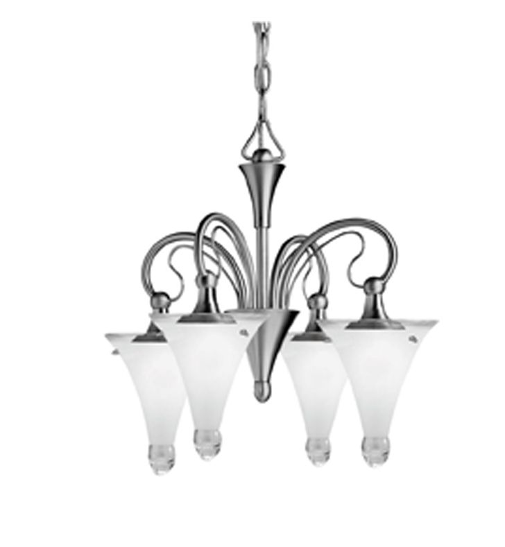 Kichler Lighting Raindrops Contemporary 4 Light Mini Chandelier