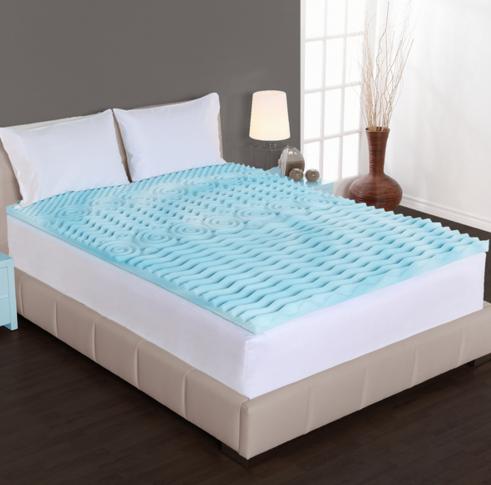 Serta Deluxe 2 Inch Memory Foam Mattress Topper Provide Comfort