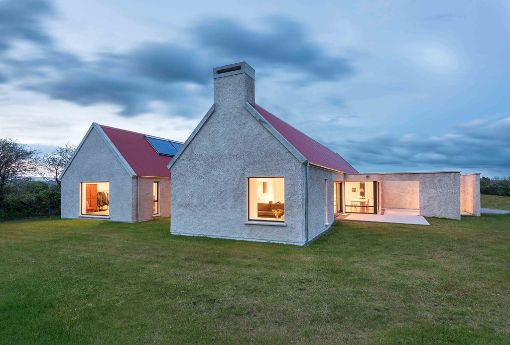 Creating A Stunning Warming Homestead Source A Href House Designs Ireland Farmhouse Architecture Cottage Extension