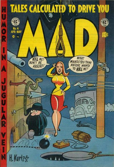 Comics 1975 William M Other Bronze Age Comics Gaines Utterly Mad #4 Comic Book Digest Ballantine Paperback Sufficient Supply