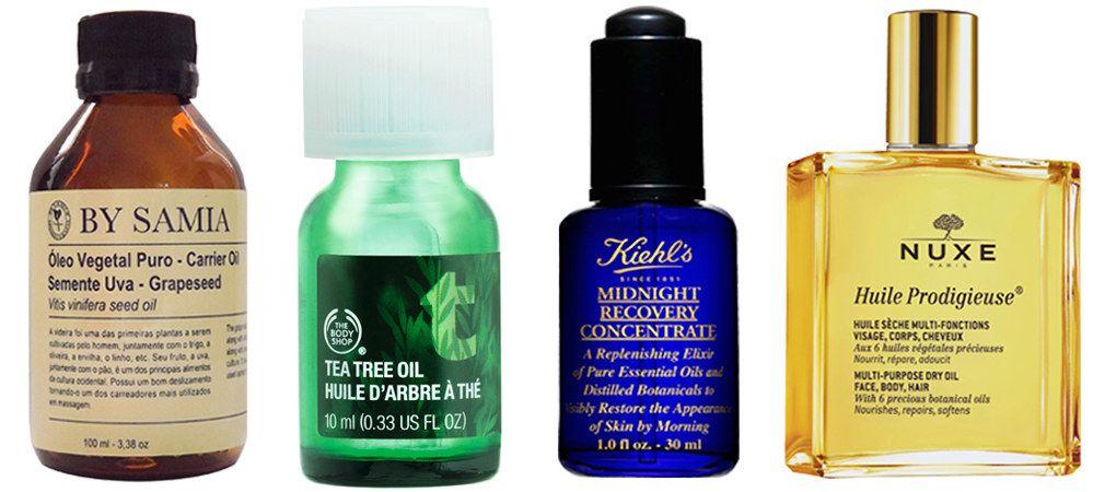 Benefícios dos óleos faciais