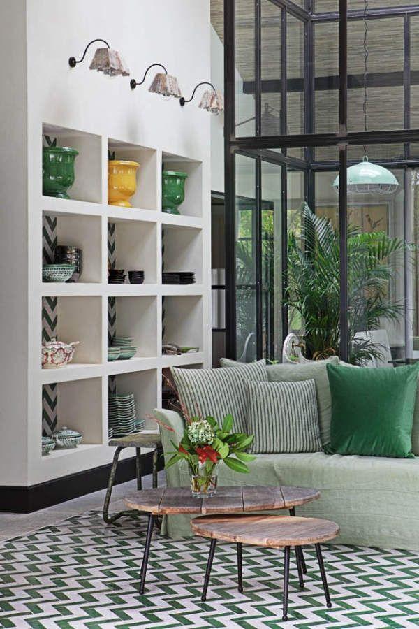 La casa del invernadero en el salón Casa de lujo Pinterest