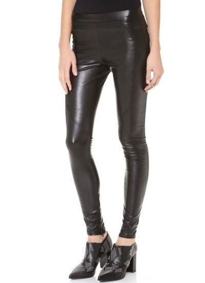 David Lerner Faux Leather Leggings @ Shopbop