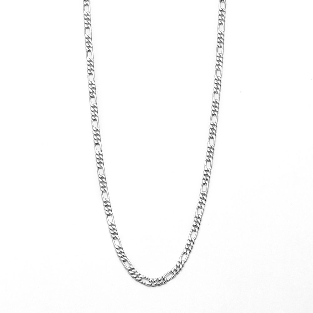 pure solid authentic 21 inches chain necklace for men