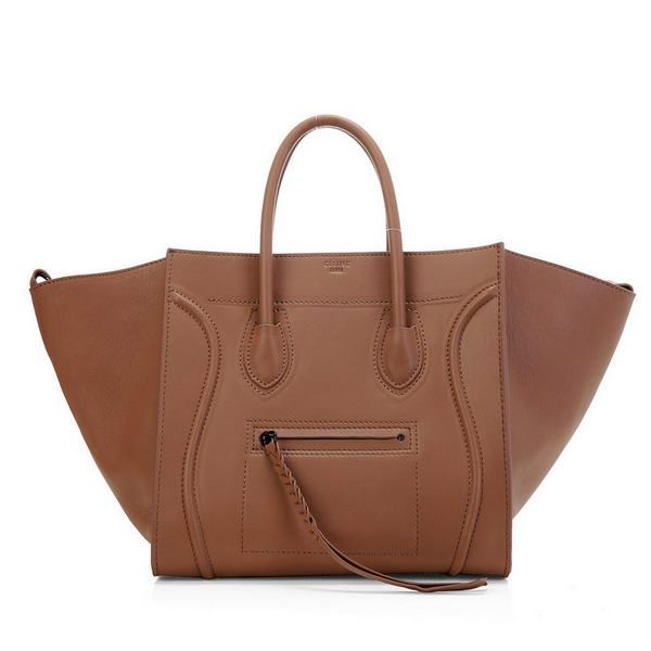 bca83dc1be2c Celine Phantom Original Leather Bags Light Brown
