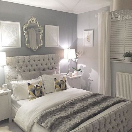 Amazing Country Decorating Ideas For Unique Home 2167 Gray bedroom