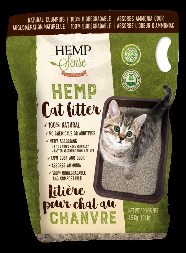 Hemp Cat Litter Hemp Sense Inc.